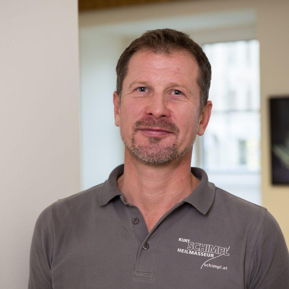 Kurt Schimpl, Heilmasseur im Praxiszentrum Freistadt